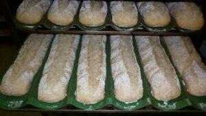 Mantenimiento de bandejas de pan